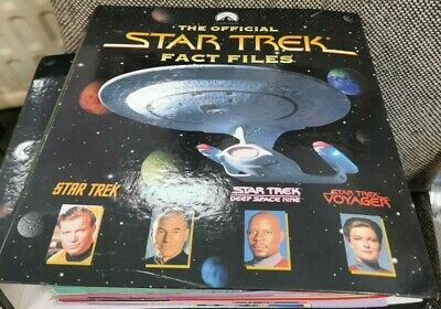 £18 • Buy Star Trek Fact Files - Issues 67-79 With Binder