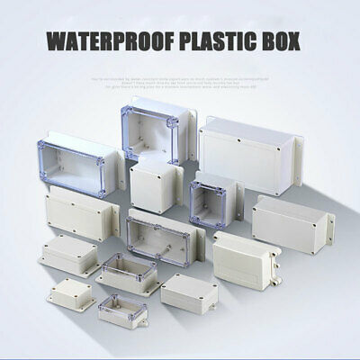 £5.18 • Buy 27 Size Plastic Electronics Project Box Enclosure Instrument Case DIY With Screw