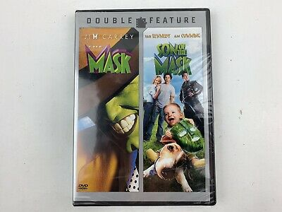$9.99 • Buy Double Feature - The Mask , Son Of The Mask DVD - New Sealed