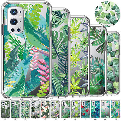 AU7.30 • Buy Tropical Green Plant Soft TPU Case Cover For OnePlus 8T 7T 6T 5T Nord N10 N100