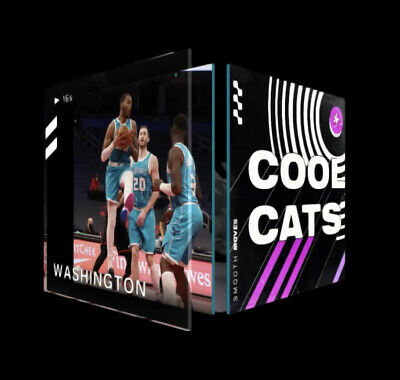 $60 • Buy NBA Top Shot Moment NFT P.J. Washingtom DUNK Cool Cats Series 2 LE #3577/10,000