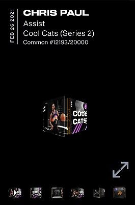 $52 • Buy NBA Top Shot Moment NFT Chris Paul ASSIST Cool Cats Series 2 LE