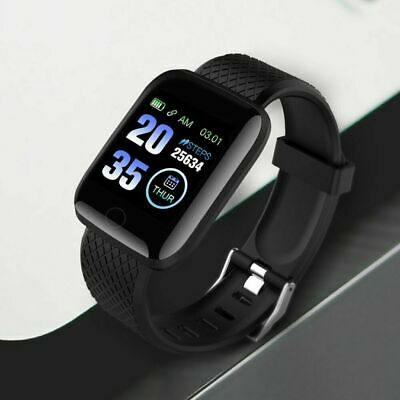 AU9.99 • Buy Smart Watch Band Sport Activity Fitness Tracker For Kids Fit Bit Android IOS AU