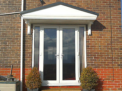 £429 • Buy Pacific GRP Door Canopy 5 Year Guarantee 2500mm Wide Includes Brackets L*
