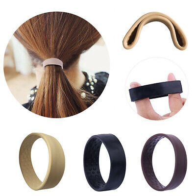 3Colors Foldable One Wide Pony Band Clip Wide Pony Hair Band O Hair Tie Band &UK • 3.49£