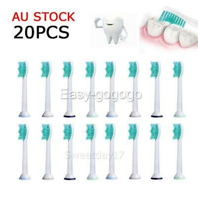 AU19.95 • Buy 20PCS Electric Toothbrush Heads Replacement For Philips Sonicare HX6014 AU