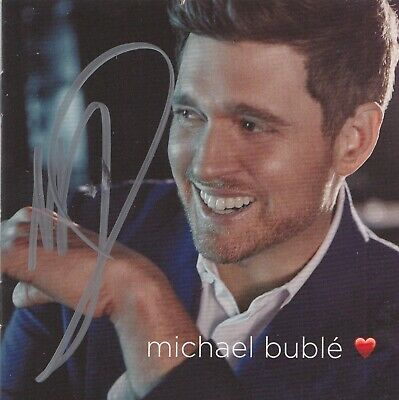 £39.99 • Buy Michael Buble Hand Signed Love Cd - Music Autograph.