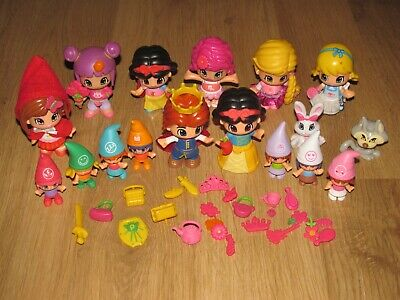 £20 • Buy Piny Pon Doll's And Accessories Bundle / Job Lot - Including Snow White