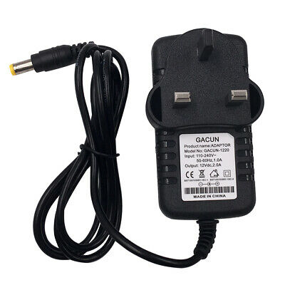 £6.99 • Buy 12V 2A 3A AC/DC UK Power Supply Adapter Safety Charger For LED Strip CCTV Camera