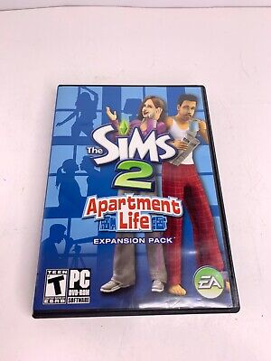 £13.76 • Buy The Sims 2: Apartment Life Expansion Pack, Teen P.C.DVD-ROM