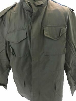 $49 • Buy US Army M65 Style Olive Green Field Jacket New With Removable Liner
