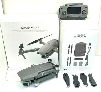 AU1926 • Buy As New DJI Mavic 2 Pro Drone Quadcopter With Fly More Kit Combo Bundle