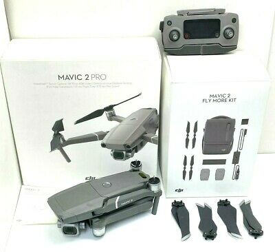 AU1925 • Buy As New DJI Mavic 2 Pro Drone Quadcopter With Fly More Kit Combo Bundle