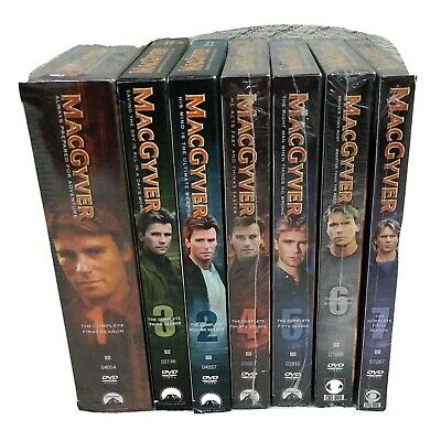 $124.99 • Buy MacGyver The Complete Series - All 7 Seasons (Slim Case)  - NEW & SEALED