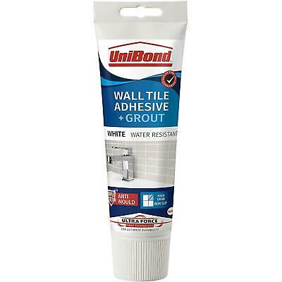 £7.80 • Buy UniBond Ultra Force Anti-Mould Wall Tile Adhesive & Grout Tube - White 300g