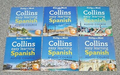 £3.99 • Buy  Daily Mail - Collins Easy Learning Spanish Audio Course - 6 Dvds - Free Postage