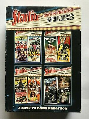 £21.98 • Buy Starlite Drive-In Theater Collection 5-Disc DVD Set Exploitation Region 1 RARE