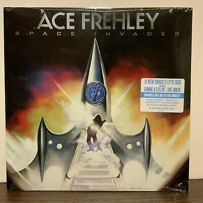 £71.88 • Buy Ace Frehley - Space Invader - Vinyl 2 LP Record SEALED!
