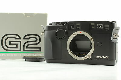 $ CDN3264.72 • Buy 【MINT In BOX】 Contax G2 Limited Black Rangefinder 35mm Film Camera From JAPAN