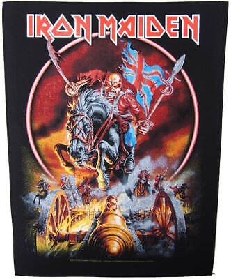 £4.95 • Buy IRON MAIDEN Backpatch Back Patch MAIDEN ENGLAND