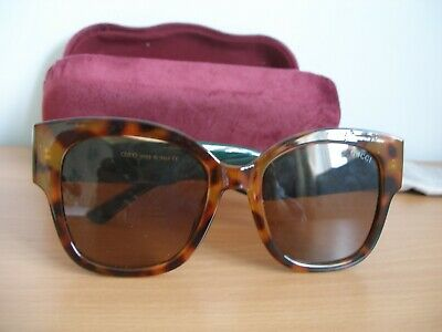 AU67.72 • Buy Ladies Gucci Large Frame Brown  Tortoise Shell Sunglasses & Case  -  (R86)