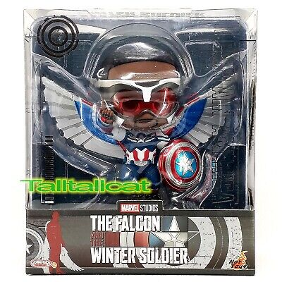 $ CDN40.02 • Buy Marvel Hot Toys THE FALCON & THE WINTER SOLDIER COSB857 CAPTAIN AMERICA Cosbaby