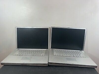 "$ CDN157.29 • Buy LOT OF 2 Apple PowerBook G4 1.67GHz 15""PowerPC G4 FOR PARTS"