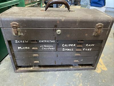 $69.99 • Buy Vintage Kennedy Machinist Tool Box Style No. 520