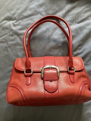 AU25 • Buy Oroton Red Leather Bag