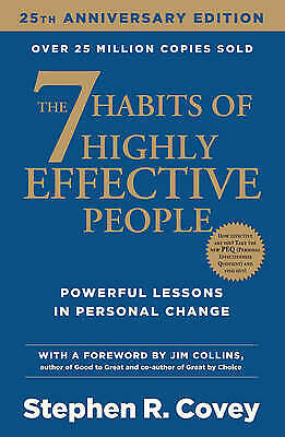 AU22 • Buy 7 Habits Of Highly Effective People Anniversary Edition By Stephen R. Covey...