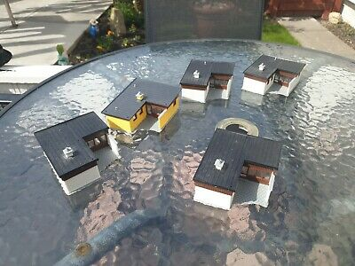 £17.99 • Buy Heljan Houses Ideal For Model Railway Used Unboxed 5 Off.