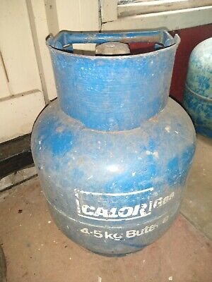 4.5kg Blue Calor Gas Butane Full Gas Bottle Caravan - Motorhome - Camping • 12.50£