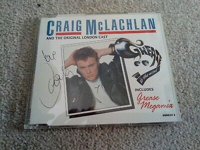 AU19.66 • Buy Craig McLachlan Signed CD Single Grease