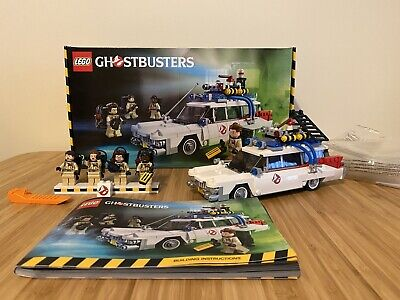 Lego Ideas - Ghostbusters Ecto-1 Set 21108 With Box & Instructions, Rare Retired • 33£
