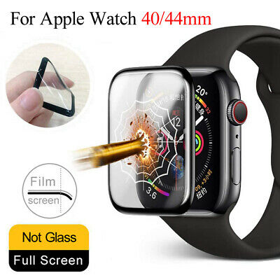 $ CDN2.98 • Buy Soft Glass Screen Protector IWatch 40mm 44mm For Apple Watch Series 6 5 4 SE