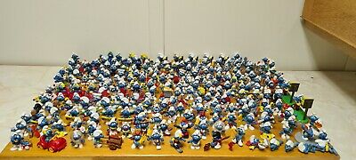 £2.99 • Buy Massive Collection Of Vintage Peyo / Schleich Smurfs Figurines Released 1970s-00