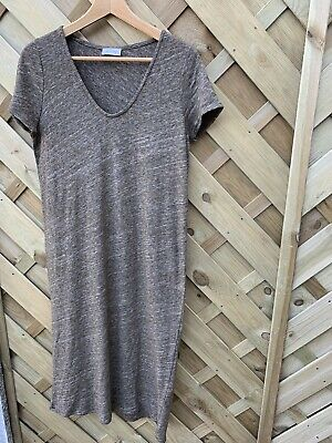 AU54.05 • Buy American Vintage Jersey Dress Size S Uk 8-10 Relaxing Fit
