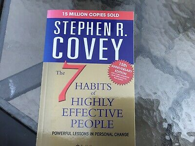 AU8.91 • Buy 7 Habits Of Highly Effective People By Stephen R. Covey (1999, Paperback)