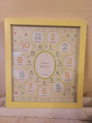 £4.99 • Buy Clinton Cards Baby`s First Year Photo Frame.