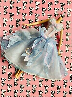 Barbie Odette Swan Lake Dress  Good Condition With Accessories Doll Clothes • 6£