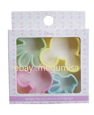 PRIMARK Disney Mickey Minnie Mouse Cookie Cutter Baking Cake Making Craft X4 • 6.95£