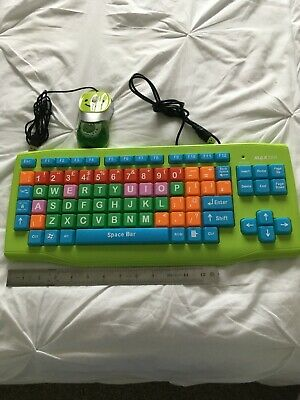 Kids Computer Keyboard & Mouse, New • 1£