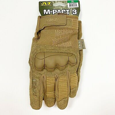 $35.99 • Buy Mechanix Wear M-PACT 3 Tactical GLOVES Coyote MP3-72-011 Sz EXTRA LARGE Mens 11