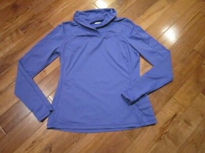 $ CDN127.38 • Buy LULULEMON Run Trail Tech Long Sleeve Pullover In Bold Blue Size 12 Thumbholes