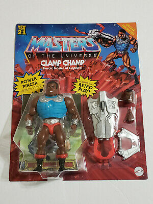 $39.97 • Buy 2021 Masters Of The Universe Origins CLAMP CHAMP Unpunched Deluxe MOTU Mattel