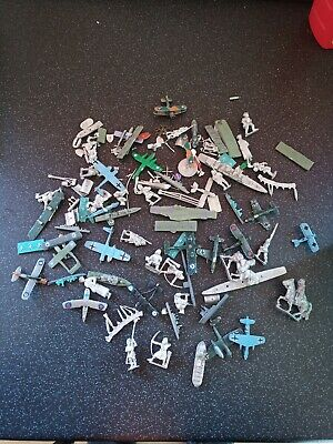 £55.99 • Buy Almost 2kg White Metal Model Parts Boats Planes People Casting Foundry