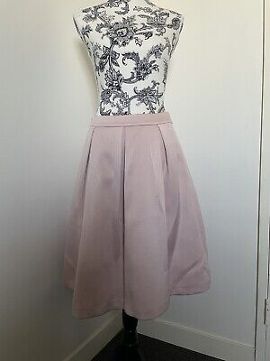 AU30 • Buy Forever New - Elegant Baby Pink Skirt - Size 10