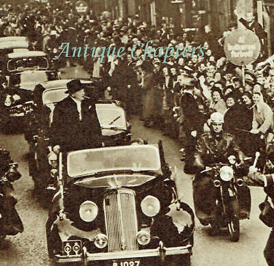 £15 • Buy Sir Winston Churchill Official Visit To Denmark 1950 Photo Article E968