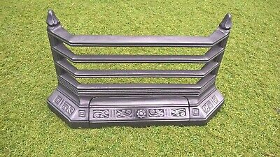 £85 • Buy Victorian Style Replacement Fireplace Front Bars Grill Fret Fire Front Ash Pan