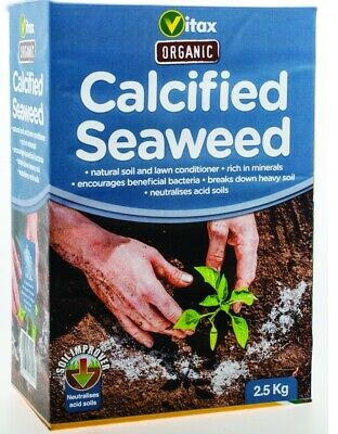 £12.54 • Buy Vitax Calcified Seaweed - Soil And Lawn Conditioner - 2.5kg